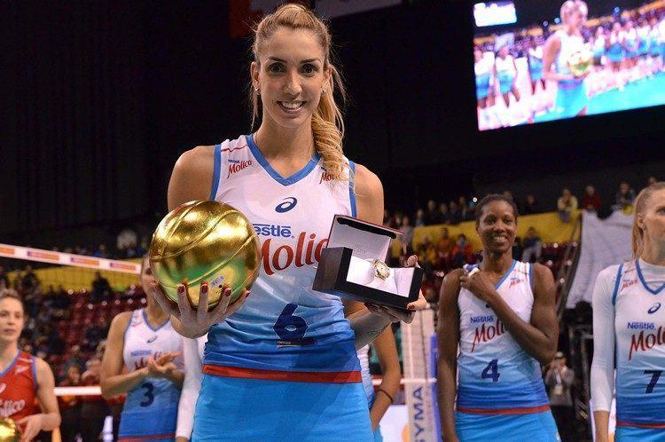 Thaisa foi eleita a melhor jogadora do torneio. (Foto: João Pires/Fotojump)