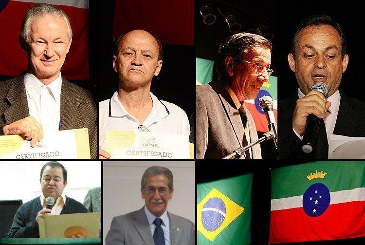 Trovadores premiados em 2014. (Fotos: PortalR3 e José Ouverney)