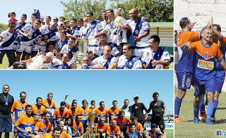 Floresta, acima na foto, campeão do Amador em 2014, não irá disputar a competição neste ano.  Já o Imperial, campeão do Quarentão em 2014, também está fora pois em 2015 haverá o Sub17. (Fotos: PortalR3)