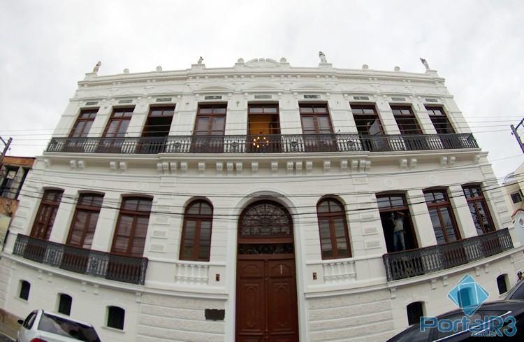 Palacete fica na região central de Pindamonhangaba. (Foto: PortalR3)