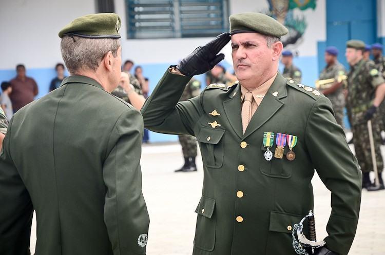 Ten Cel Rogério Caum é o novo comandante do 2º BE Cmb. (Foto: Luis Claudio Antunes/PortalR3)