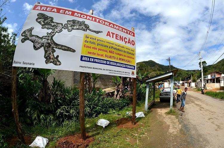 A ação faz parte do processo de regularização fundiária do bairro em andamento desde meados do ano passado. (Foto: Divulgação/PMU)