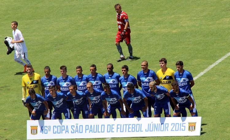Equipe do EC Taubaté. (Foto: Divulgação/PMT)
