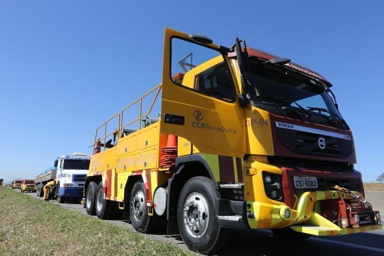 Segundo levantamento da CCR NovaDutra, realizado entre o Natal e o Ano Novo, problemas mecânicos corresponderam a 62% dos atendimentos registrados na rodovia. (Foto: Adenir Brito/CCR Nova Dutra)