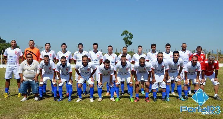 Unidos do Castolira teve o resultado mais expressivo desta rodada de abertura, fazendo 5 a 0 no Maricá. (Foto: Luis Claudio Antunes/PortalR3)