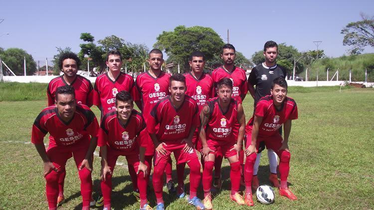 Time do Mantipê na estrea da Copa Regional 2015. (Foto: Chico de Paula/PortalR3)