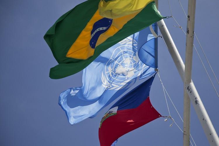 Brasil participa da missão  da ONU no Haiti. (Foto: Audrey Goillot/UN/MINUSTAH)