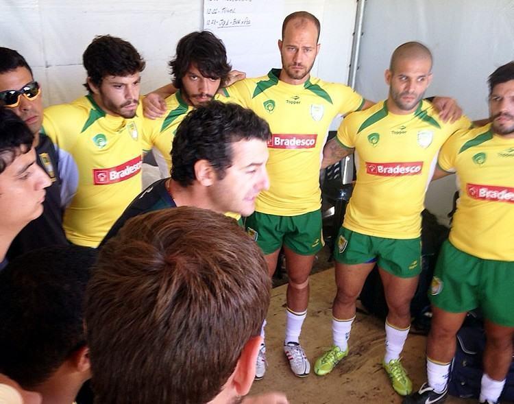 Brasileiros garantiram vaga para o torneio que será realizado no Canadá. (Foto: Danielle Abreu/CBRu)