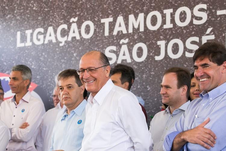 Cerimônia de entrega contou com a presença do governador Geraldo Alckmin e do prefeito de São José dos Campos, Carlinhos Almeida. (Foto: A2 Fotografia / Edson Lopes Jr.)