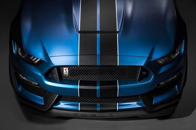 Detalhes na frente do novo Mustang. (Foto: Divulgação/Ford)