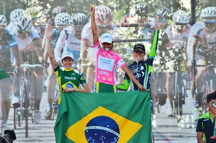 Pódio final teve as brasileiras Janildes Fernandes, campeã geral e Ana Paula Polegatch, em terceiro lugar. (Foto: ANSL/Divulgação)