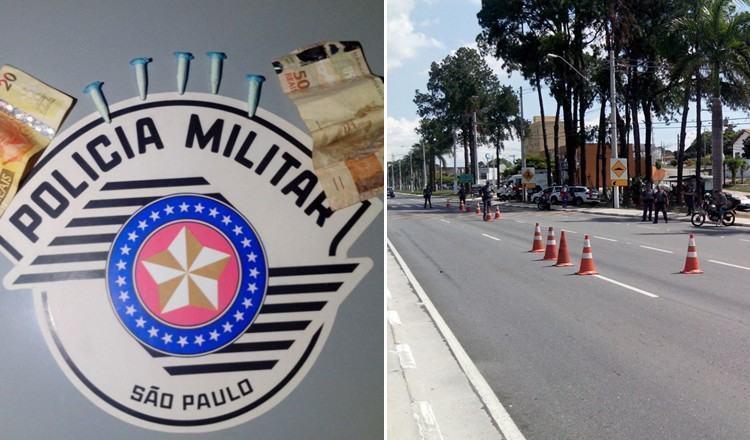 Polícia Militar divulga balanço de ações em Pindamonhangaba. (Foto: Divulgação/PM)