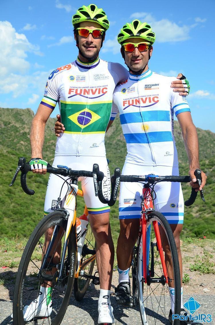 """O campeão Brasileiro Antônio Garnero """"Pippo"""" e o campeão argentino Daniel Díaz. (Foto: Luis Claudio Antunes/PortalR3)"""
