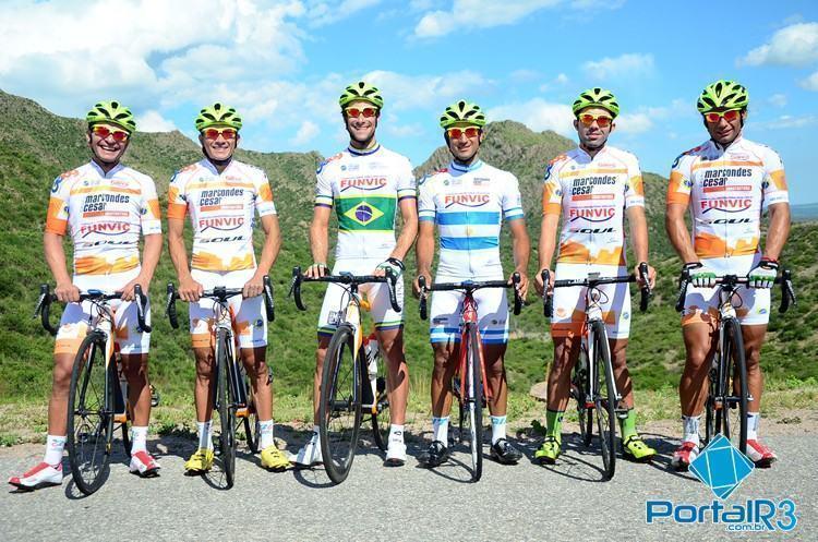 Da esquerda para a direita: Kleber Ramos, Alex Diniz, Antônio Garnero, Daniel Díaz, Magno Nazeret e Francisco Chamorro. (Foto: Luis Claudio Antunes/PortalR3)