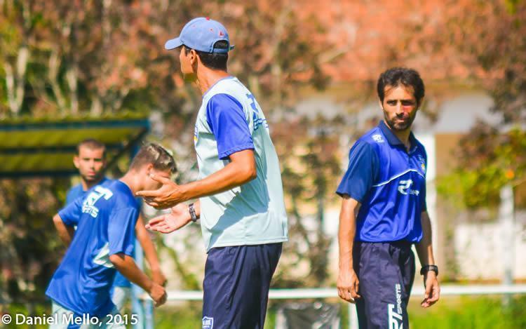 O treinador destacou a necessidade de uma preparação adequada, planejada e que atenda as características da competição. (Foto: Daniel Mello)