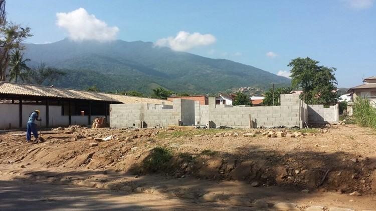 As obras Centro de Referência Animal estão em ritmo acelerado na Barra Velha. (Foto: Cláudio Rodrigues/PMI)