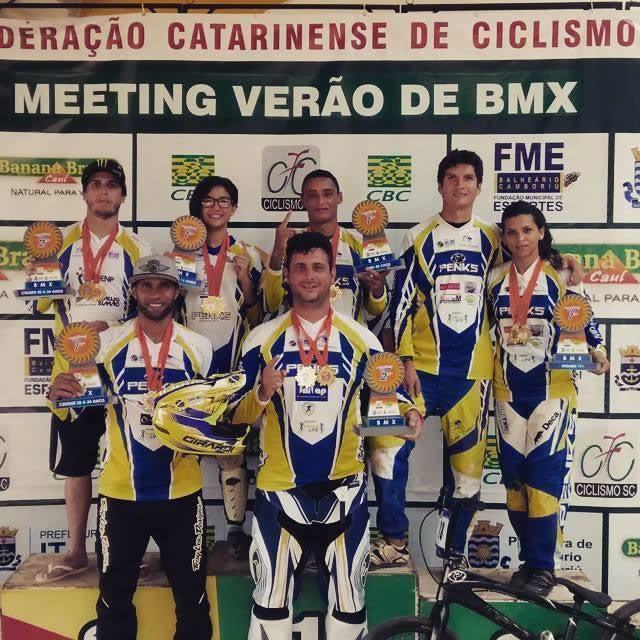 O CCSJC contou com a participação de oito atletas, com destaque para a volta do técnico Valdir Júnior às competições. (Foto: Divulgação/CCSJC)