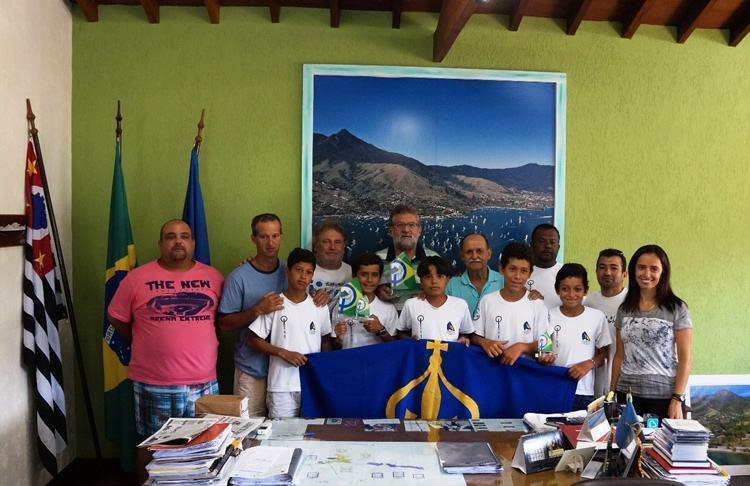 Ao todo, sete velejadores ilhabelenses participaram do Brasileiro. (Foto:Divulgação/PMI)