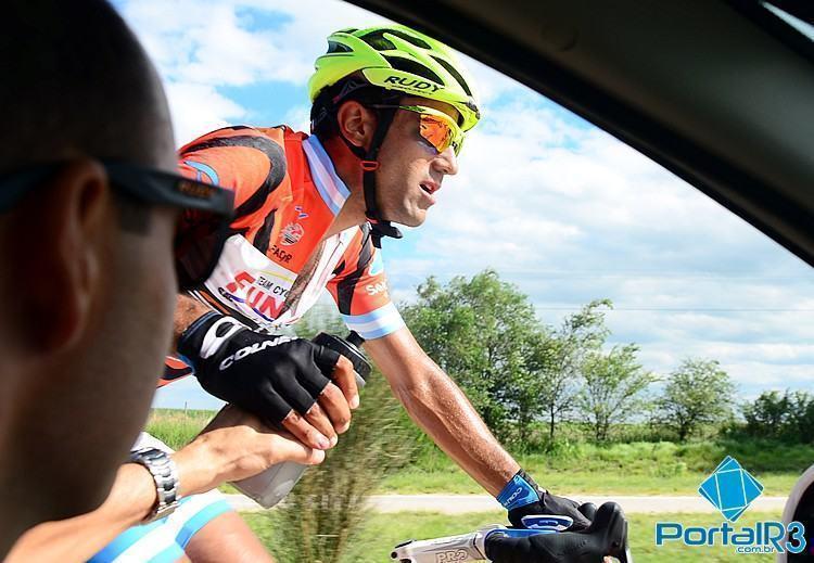 Daniel Díaz durante a 3ª etapa do Tour de San Luis. (Foto: Luis Claudio Antunes/PortalR3)