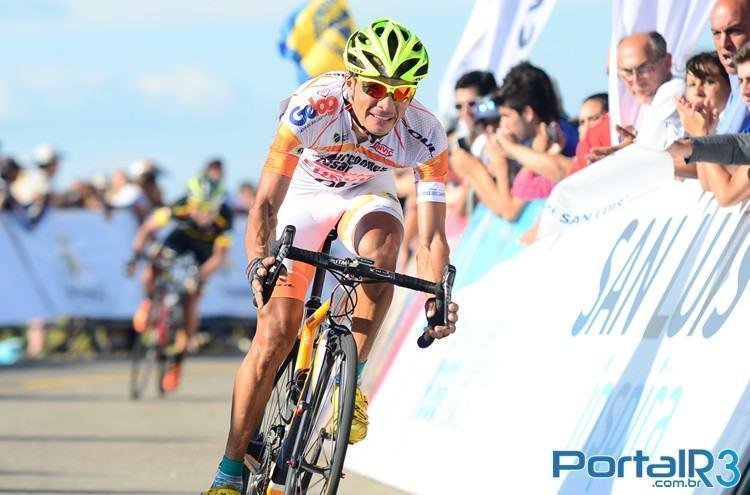 Alex Diniz cruzou a linha de chegada em segundo lugar. (Foto: Luis Claudio Antunes/PortalR3)