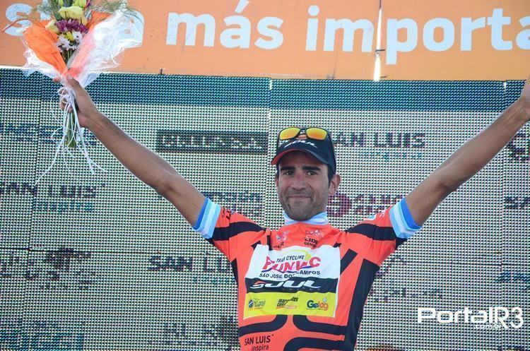 Daniel Díaz está muito próximo da vitória no Tour de San Luis. (Foto: Luis Claudio Antunes/PortalR3)