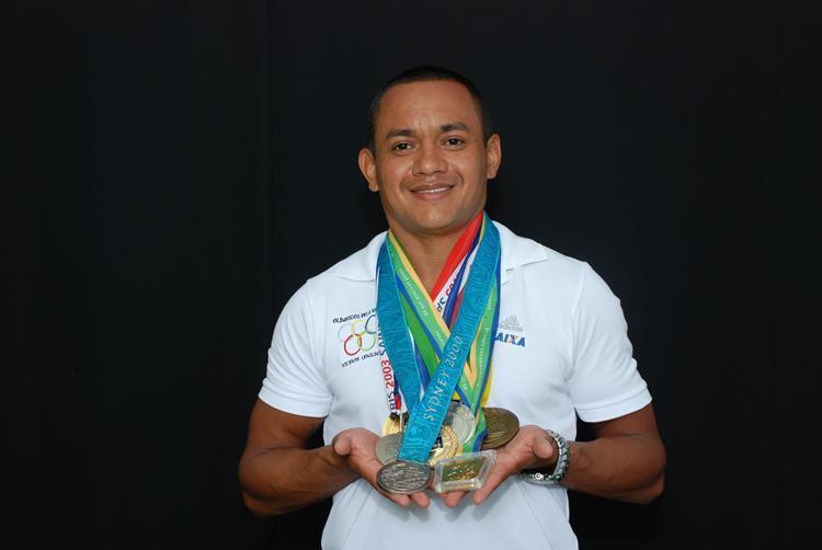Das 18h às 21h, Vicente Lenilson vice-campeão olímpico no revezamento 4x100m em Sydney 2000 realiza uma apresentação esportiva na Pista de velocidade. (Foto: Divulgação/Sesc)