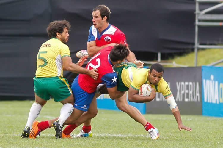 A classificação veio após as vitórias sobre os donos da casa, os chilenos, e sobre os peruanos. (Foto: Divulgação/CBRu