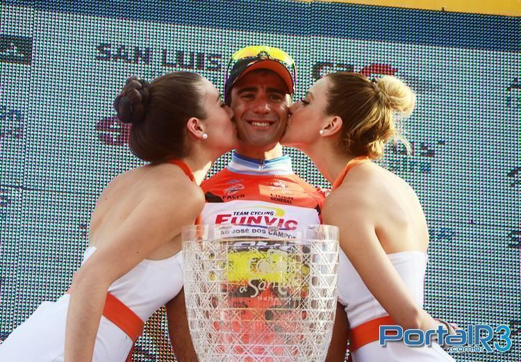 Dani Díaz, campeão do Tour de San Luis 2015. (Foto: Luis Claudio Antunes/PortalR3)