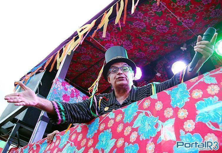 Juca Teles é uma das atrações do carnaval 2015 em Pindamonhangaba. (Foto: Fernando Noronha/PortalR3)