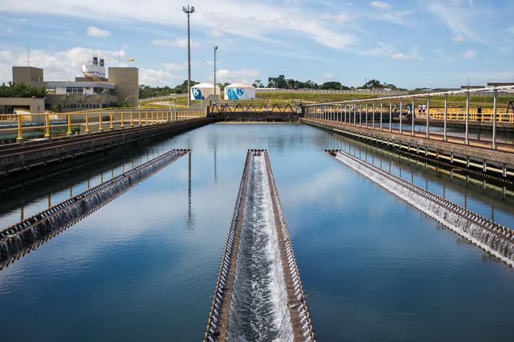 Governador Alckmin entrega obra que aumenta a captação de água no Sistema Alto Tietê. (Foto: Edson Lopes Jr./Governo do Estado)