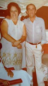 Sr. Hélio e a esposa Sarah. (Foto: Arquivo Pessoal)