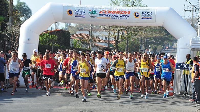 O Circuito Joseense de Corridas de Rua é uma iniciativa da prefeitura da cidade. (Foto: Claudio Capucho/PMSJC)