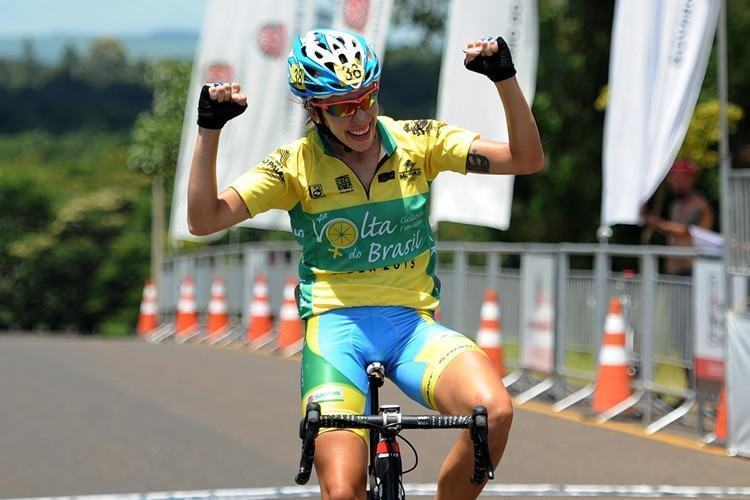 Polegatch comemora seu terceiro título na competição. (Foto: Ivan Storti/FPCiclismo)