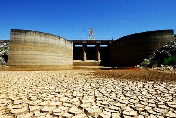 O Sistema Cantareira ficou entre os dias 24 e 29 com um volume estável em 5,1% (Foto: Divulgação/Sabesp)
