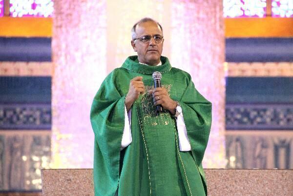 Padre João Batista de Almeida. (Foto: Matheus Andrade)