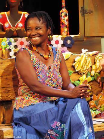 Ana Maria é conhecida pela atuação na Festa do Bumba-Meu-Boi. (Foto: Rodrigues Lima/AJFAC)