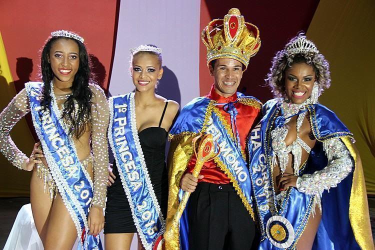 Corte do Carnaval 2015 de Taubaté. (Foto: Divulgação/PMT)