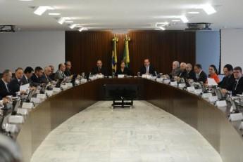 Reunião do Conselho Nacional de Desenvolvimento Industrial teve a participação da presidenta Dilma e representantes do governo e da indústra (Foto: José Cruz/Agência Brasil)