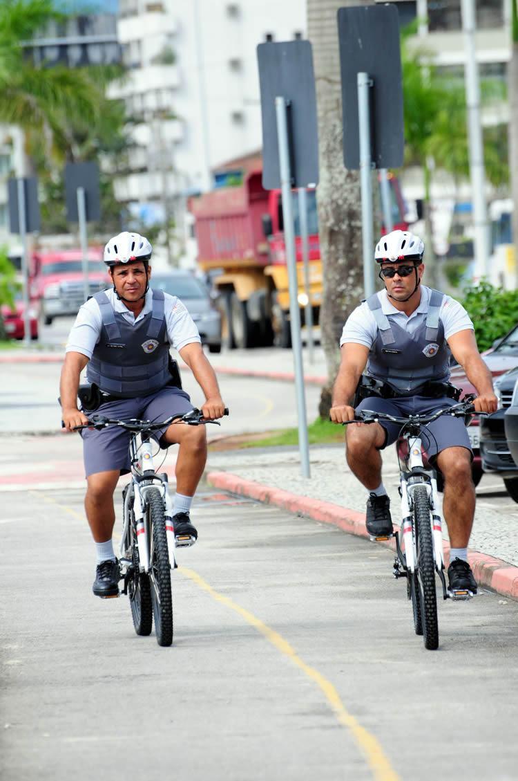 O grupamento da PM fará o policiamento preventivo, por meio de patrulhas motorizadas e ostensivo a pé. (Foto: Gianni D'Angelo/PMC)