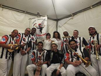E para animar a segunda-feira, às 16h, tem início da Intervenção musical com a Banda Paralela. (Foto: Divulgação/Sesc)
