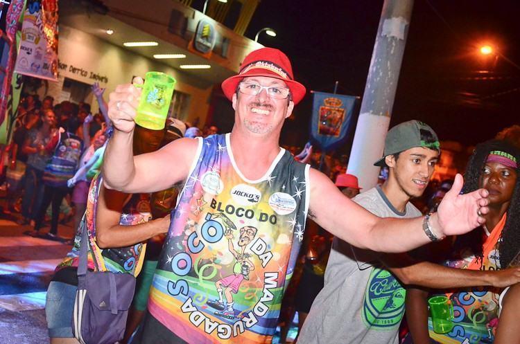 Rogério Socó, fundador e presidente do bloco. (Foto: Luis Claudio Antunes/PortalR3)