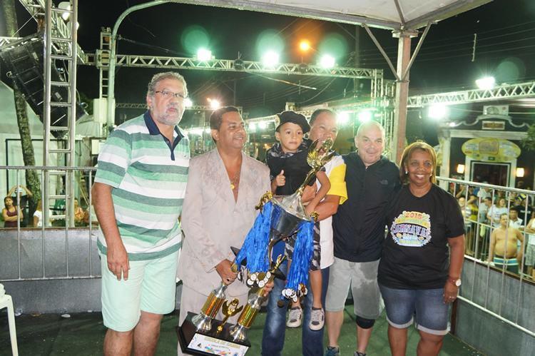 Cerimônia de premiação ocorreu nesta terça de Carnaval (17/2) e contou com a presença do prefeito Toninho Colucci (Foto: Cláudio Rodrigues/PMI)