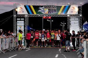A Corrida Adrena Run Dia Internacional da Mulher abre o Circuito de Corrida de Rua de Caraguatatuba. ((Fotos: Luis Gava/PMC)