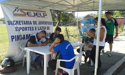 """O programa """"Esporte é Saúde, Caminhada é Vida"""" teve início em 2014 e tem realizado auxílio à pessoas de todas as idades. (Foto: Divulgação/PMP)"""