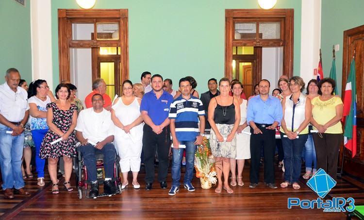 Novo Conselho Municipal de Sáude é empossado. (Foto: Luis Claudio Antunes/PortalR3)
