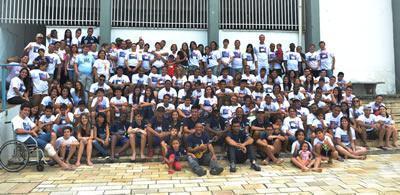 O acampamento foi realizado no Campus II da FUNVIC, no Centro de Pindamonhangaba, contou com 160 inscritos diretos e mais os visitantes. (Foto: Divulgação)