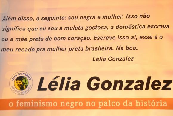 O Projeto Memória inclui 20 réplicas da exposição Lélia Gonzalez, no Centro Cultural Banco do Brasil, no Rio de Janeiro. (Foto: Tomaz Silva/Agência Brasil)