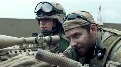 """Com seis indicações ao Oscar, o drama de guerra """"Sniper Americano"""", dirigido pelo veterano Clint Eastwood, saiu vitorioso na categoria """"Melhor Edição de Som"""" no Oscar 2015. (Foto: Divulgação)"""
