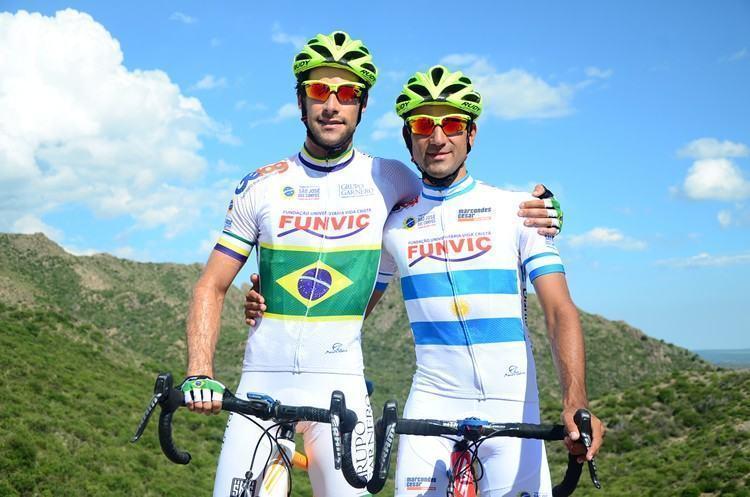 Antônio Garnero, campeão brasileiro de Estrada e Daniel Díaz, campeão argentino, integram o grupo que estará no México. (Foto: Luis Claudio Antunes/PortalR3)