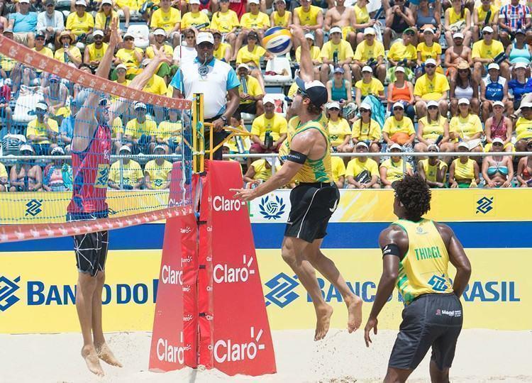 Brasil confirmou título após vitória neste sábado. (Foto: divulgação / Maurício Kaye)